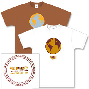 Vusi Mahlasela 2002-2006 World Tour T-Shirt