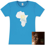 Say Africa CD/T-Shirt Combo (Womens)