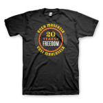 20 Years of Freedom Tee