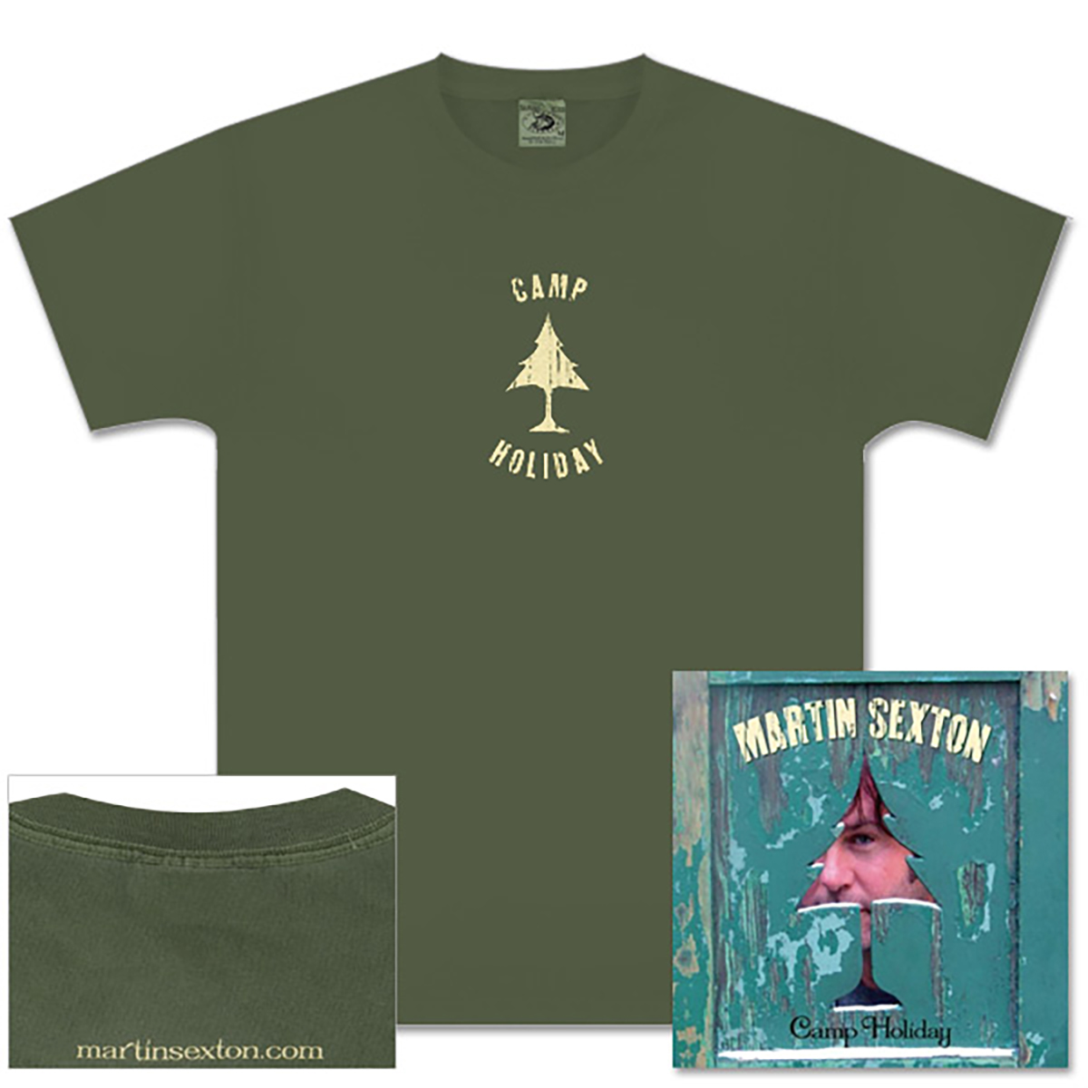 Camp Holiday CD/Tee Bundle