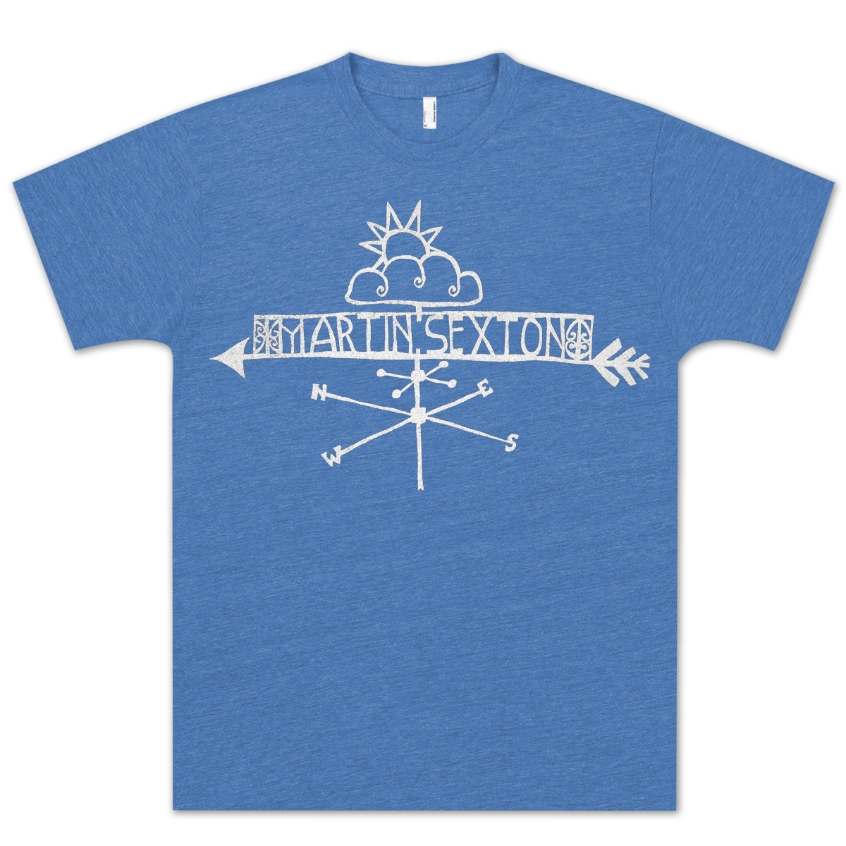 Unisex Royal Falls Like Rain Vintage T-shirt.