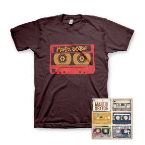 Martin Sexton Mixtape of the Open Road CD/T-Shirt Combo