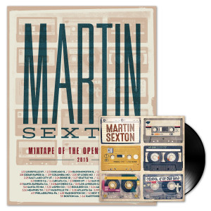 Martin Sexton Mixtape of the Open Road LP/Tour Poster Combo