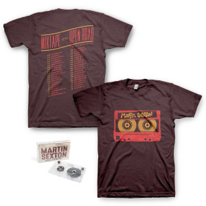 Mixtape of the Open Road Cassette/T-Shirt Combo w/ Free Download