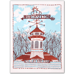 Autographed Limited Edition Silkscreen Tour Poster - Fall Like Rain Winter 2012