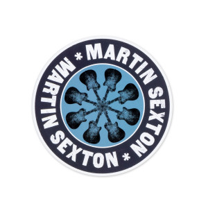 Martin Sexton New Unite Guitar Logo Sticker