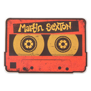 Martin Sexton Mix Tape Sticker