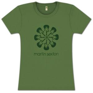 Women's Martin Sexton Unite Guitar T-Shirt