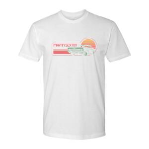 Sexton Car Unisex Tee - White