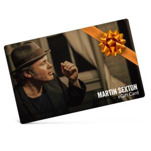 Martin Sexton Electronic Gift Certificate