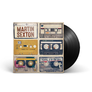 Martin Sexton Mixtape of the Open Road LP/Download Card