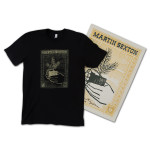 Martin Sexton 2014 Tour T-Shirt and Autographed Silkscreen Poster Bundle