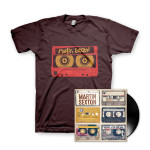 Martin Sexton Mixtape of the Open Road LP/T-Shirt Combo