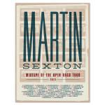 Martin Sexton 2015 Tour Poster