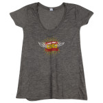 Martin Sexton Ladies Drape Mixtape Wings T-Shirt