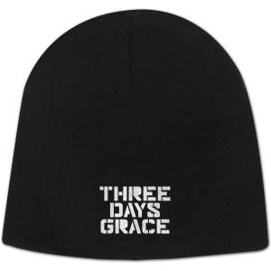 Three Days Grace Stencil Stacked Logo Beanie