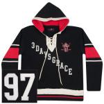 Three Days Grace Hockey Hoodie