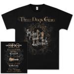 Three Days Grace Three Days of Giving Tour T-Shirt