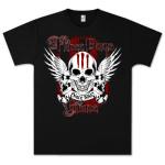 Three Days Grace 3 Days Skulls T-Shirt