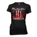 Three Days Grace Bloodshot Junior T-Shirt