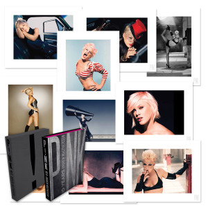 P!nk 10 Years Book with High-Quality Print Set