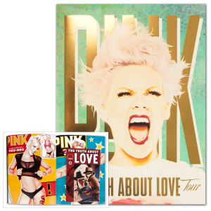 P!nk Truth 2013 Tour Program