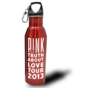 Pink Truth Tour Water Bottle