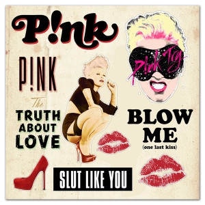 P!nk Truth Sticker Sheet