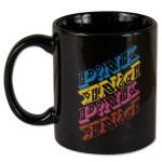Pink Repeat Logo Mug