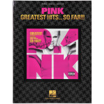 Pink The Greatest Hits So Far Songbook