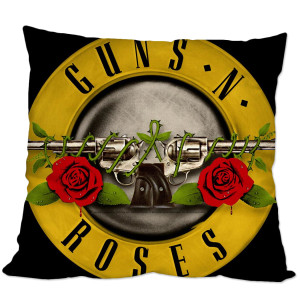 Guns N Roses Bullet Pillow