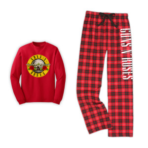 Guns N Roses PJ Set