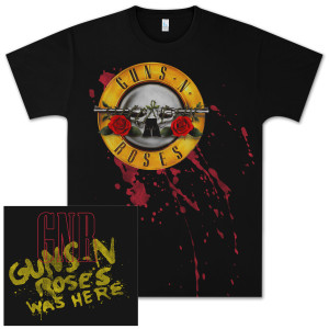 Guns N' Roses Bullet Blood T-Shirt