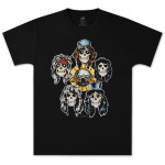Guns N' Roses Heads Vintage T-Shirt