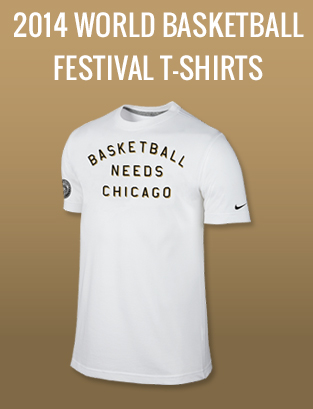 World Basketball Festival T-Shirts
