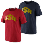 USAB Basketball Gold T-shirt