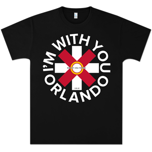 Red Hot Chili Peppers Orlando Event T-Shirt
