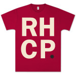Red Hot Chili Peppers RHCP Stack T-Shirt