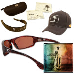 Kenny Chesney Welcome to the Fishbowl Sunglasses CD or MP3 with Maya Sunglasses - Tortoise Frame/Beige 580P Lens
