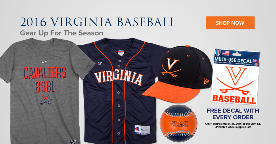 2016 Virginia Baseball Gear