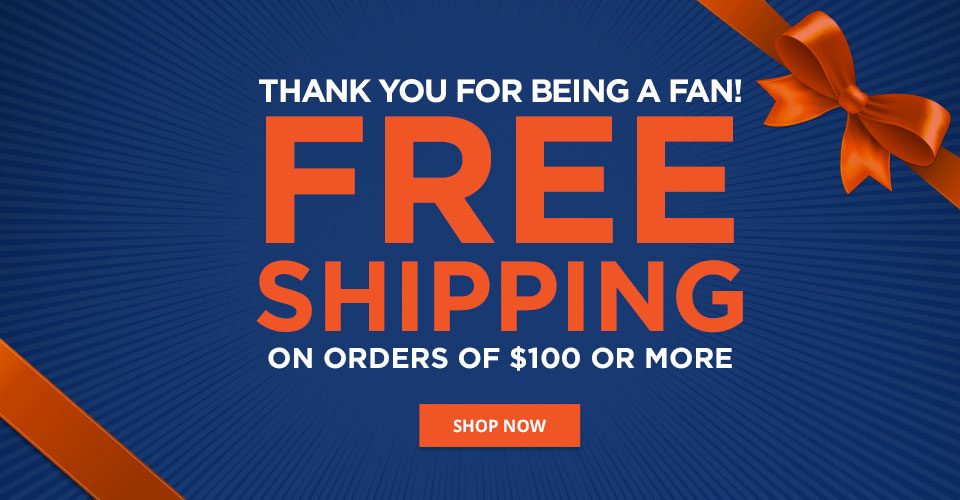 Free shipping on $100+!
