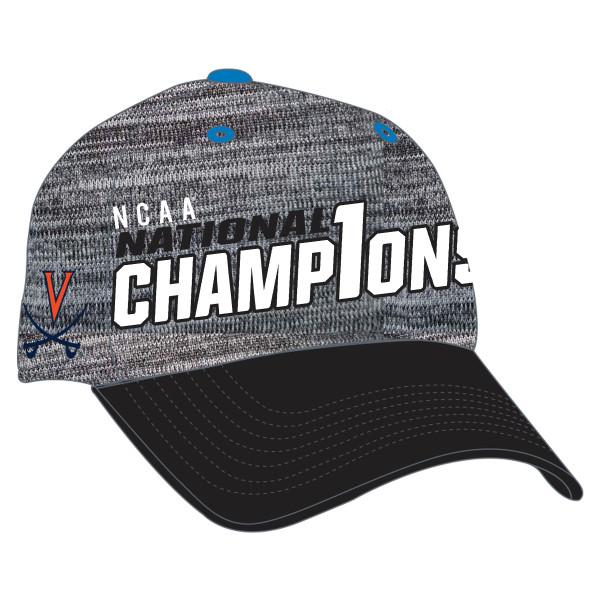 University of Virginia 2017 NCAA Tennis Champions Locker Room Cap bf3460f900f