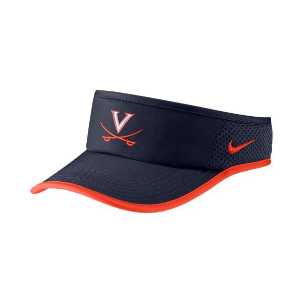 b5b672ebdc3 University of Virginia Nike Featherlight Dri-FIT Visor