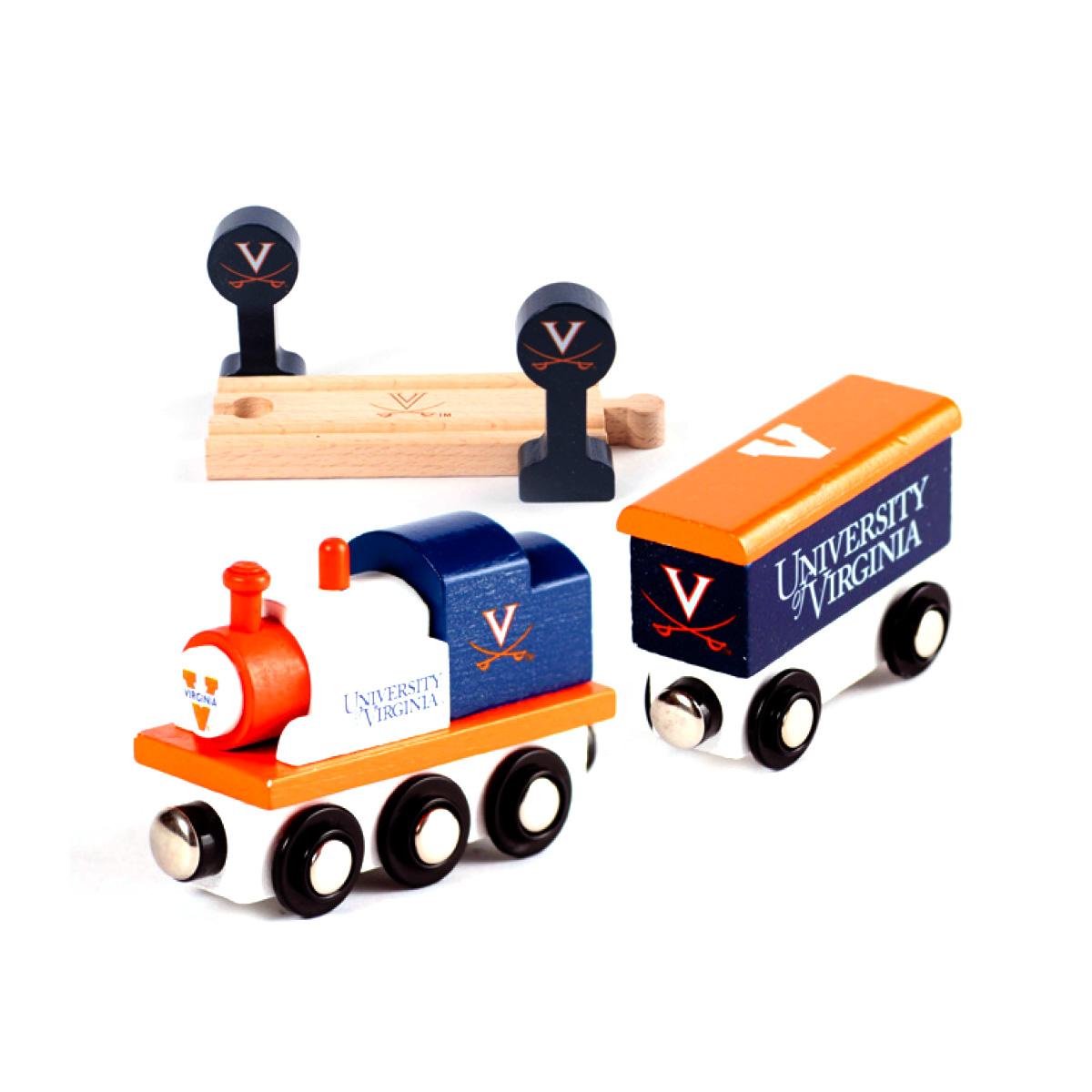 University of Virginia Toy Train Set