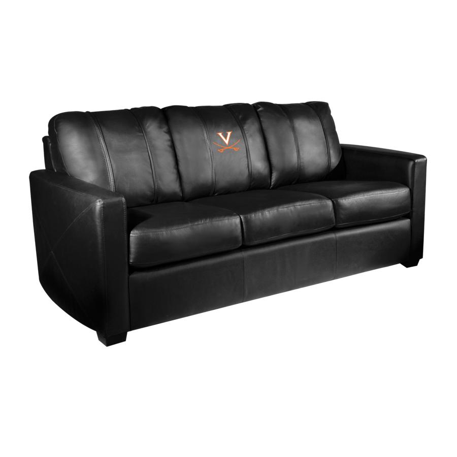 Virginia Cavaliers Collegiate Silver Sofa