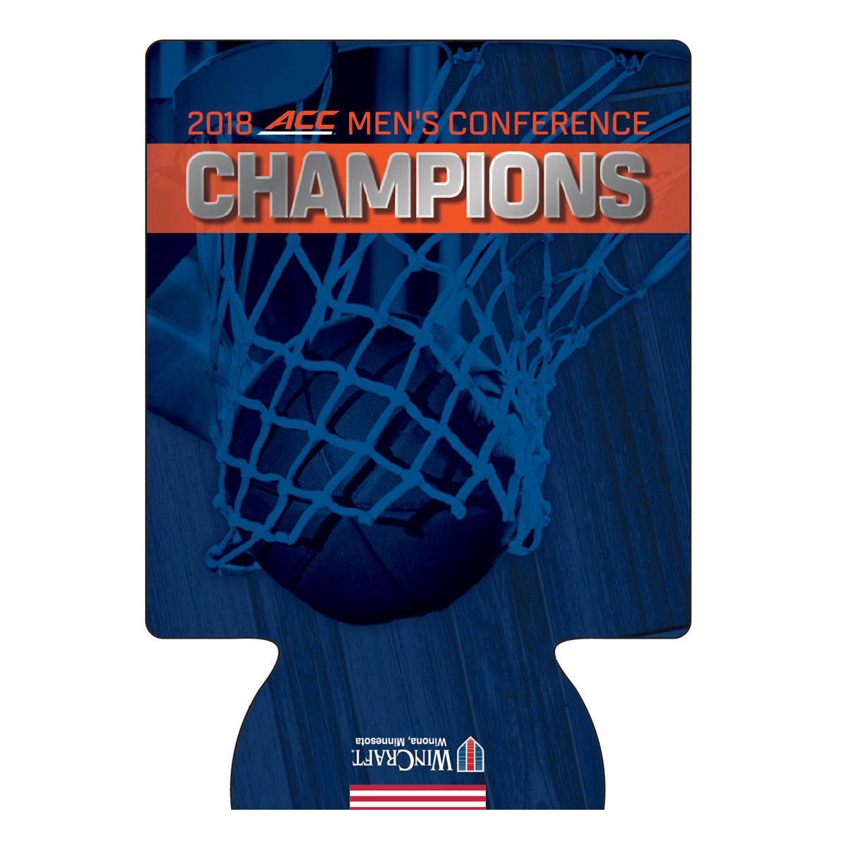 University of Virginia 2018 ACC Champs Can Cooler