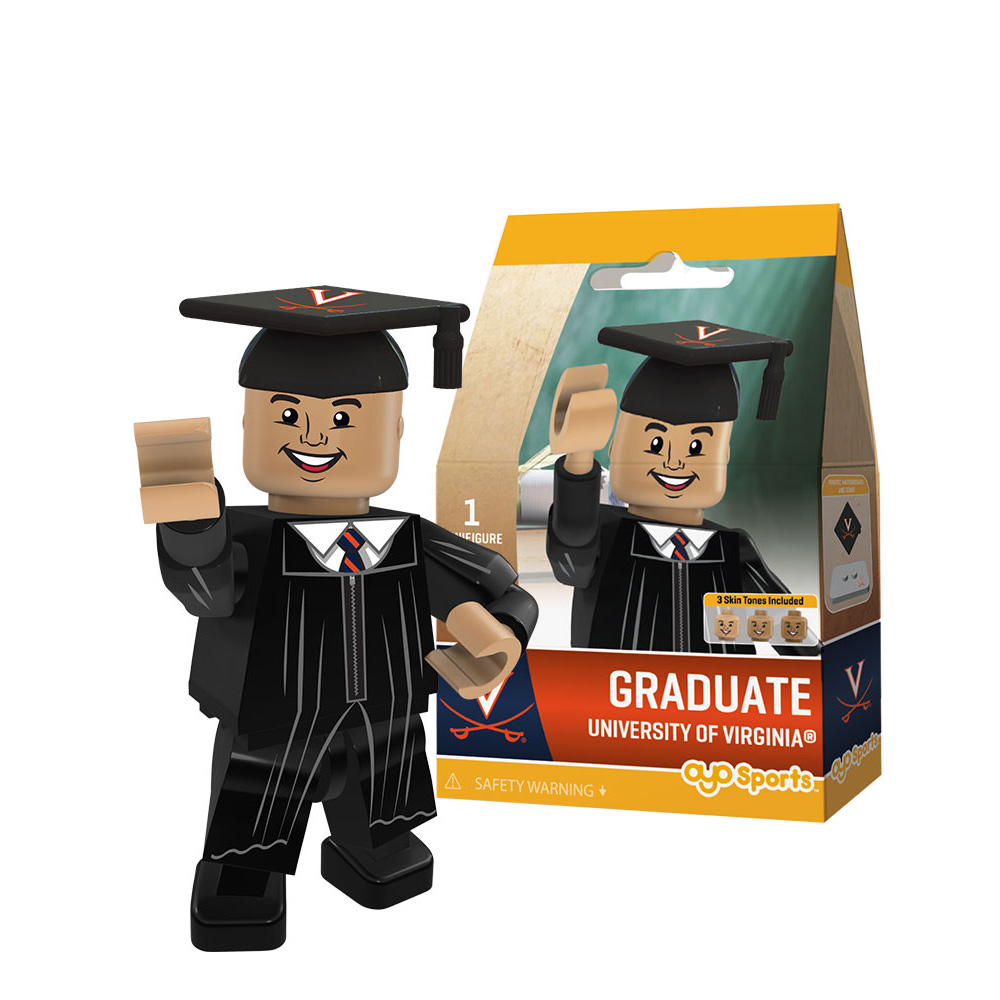 OYO University of Virginia Male Graduate Mini-figure