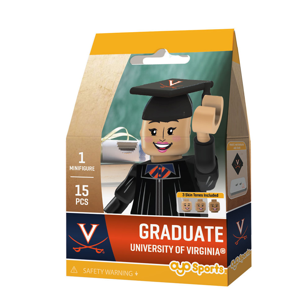 OYO University of Virginia Female Graduate Mini-figure