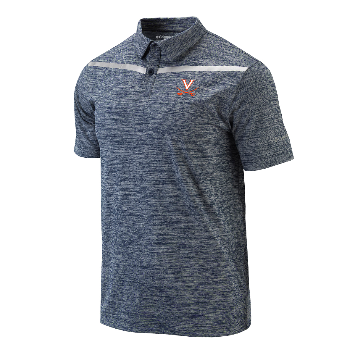 University of Virginia Columbia Reflective Tape Polo