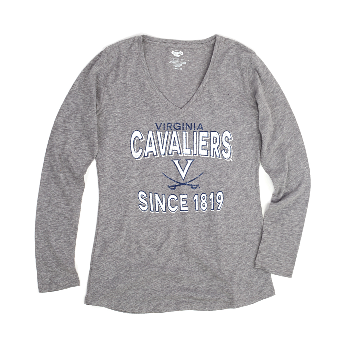 University of Virginia Cavaliers Ladies LS T-shirt